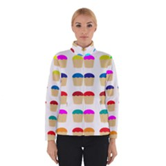 Colorful Cupcakes Pattern Winterwear
