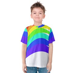 Rainbow Kids  Cotton Tee
