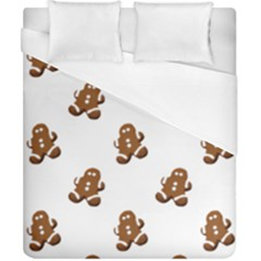 Gingerbread Seamless Pattern Duvet Cover (california King Size)