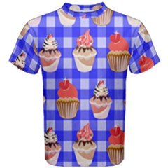 Cake Pattern Men s Cotton Tee