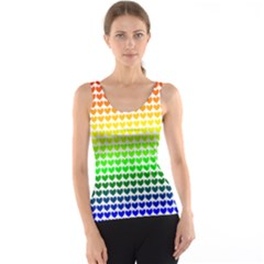 Rainbow Love Tank Top by Nexatart