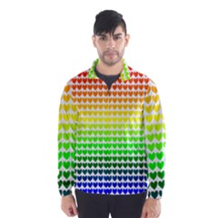 Rainbow Love Wind Breaker (men) by Nexatart