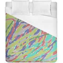 Crayon Texture Duvet Cover (california King Size) by Nexatart