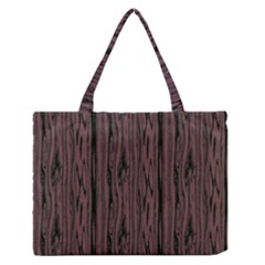 Grain Woody Texture Seamless Pattern Medium Zipper Tote Bag by Nexatart