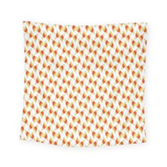 Candy Corn Seamless Pattern Square Tapestry (small) by Nexatart