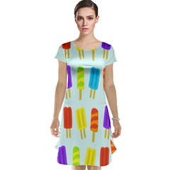 Popsicle Pattern Cap Sleeve Nightdress