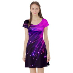 Big Bang Short Sleeve Skater Dress by ValentinaDesign