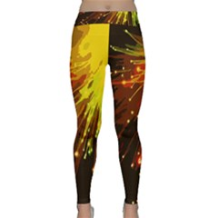 Big Bang Classic Yoga Leggings by ValentinaDesign