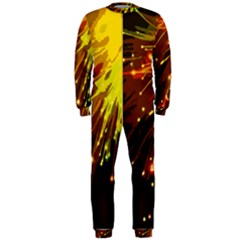 Big Bang Onepiece Jumpsuit (men)  by ValentinaDesign