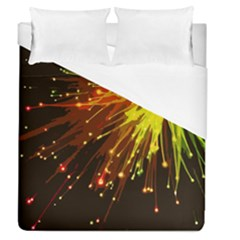 Big Bang Duvet Cover (queen Size) by ValentinaDesign
