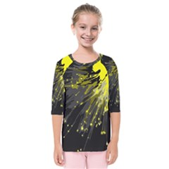Big Bang Kids  Quarter Sleeve Raglan Tee by ValentinaDesign