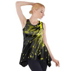 Big Bang Side Drop Tank Tunic by ValentinaDesign