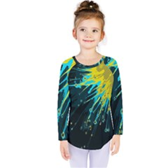 Big Bang Kids  Long Sleeve Tee by ValentinaDesign