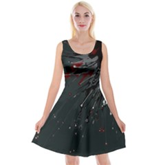 Big Bang Reversible Velvet Sleeveless Dress by ValentinaDesign