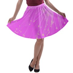 Big Bang A Line Skater Skirt