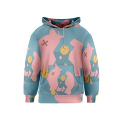 Coins Pink Coins Piggy Bank Dollars Money Tubes Kids  Pullover Hoodie