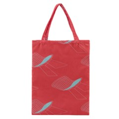 Chairs Wicker Cafe Party Comfortable Red Blue Classic Tote Bag