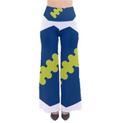 Football America Blue Green White Sport Pants by Mariart