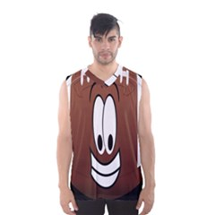 Happy Football Clipart Excellent Illustration Face Men s Basketball Tank Top by Mariart