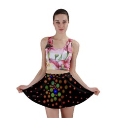 Molecular Chemistry Of Mathematical Physics Small Army Circle Mini Skirt