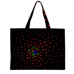 Molecular Chemistry Of Mathematical Physics Small Army Circle Zipper Mini Tote Bag by Mariart