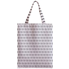 Renelle Box Waves Chevron Wave Line Zipper Classic Tote Bag by Mariart