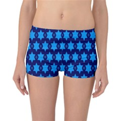 Star Blue Space Wave Chevron Sky Reversible Bikini Bottoms by Mariart