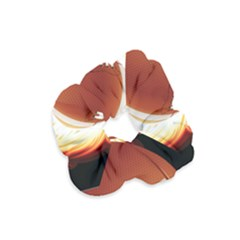 Super Football American Sport Fire Velvet Scrunchie by Mariart