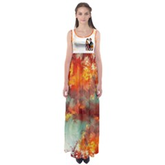 colors Of Love    Empire Waist Maxi Dress by livingbrushlifestyle