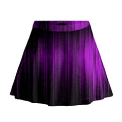 Light Mini Flare Skirt
