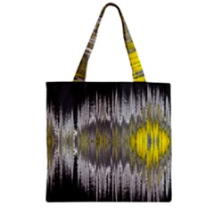 Light Zipper Grocery Tote Bag by ValentinaDesign