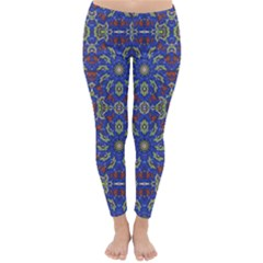 Colorful Ethnic Design Classic Winter Leggings by dflcprintsclothing
