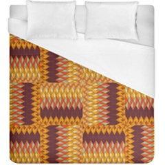 Geometric Pattern Duvet Cover (king Size) by linceazul