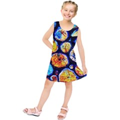 Woodpile Abstract Kids  Tunic Dress by Costasonlineshop