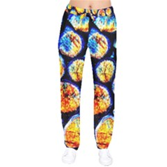 Woodpile Abstract Drawstring Pants by Costasonlineshop