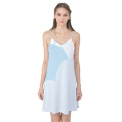 Cloud Sky Blue Decorative Symbol Camis Nightgown by Nexatart