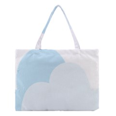 Cloud Sky Blue Decorative Symbol Medium Tote Bag