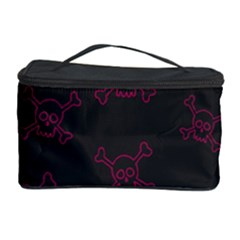 Skull Pattern Cosmetic Storage Case by ValentinaDesign