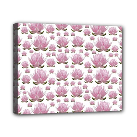 Lotus Canvas 10  X 8  by ValentinaDesign