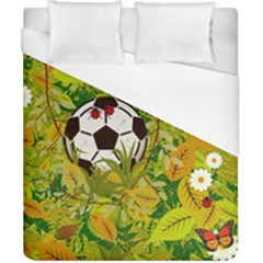 Ball On Forest Floor Duvet Cover (california King Size) by linceazul