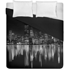 City Panorama Duvet Cover Double Side (california King Size)