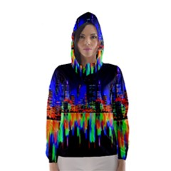 City Panorama Hooded Wind Breaker (women)