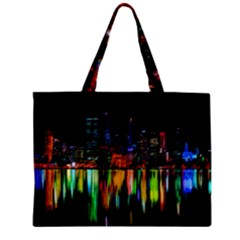 City Panorama Zipper Mini Tote Bag