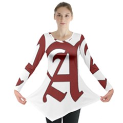 The Scarlet Letter Long Sleeve Tunic