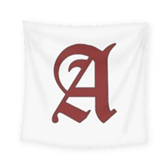 The Scarlet Letter Square Tapestry (small)