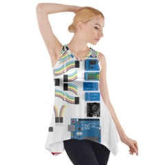 Arduino Arduino Uno Electronic Side Drop Tank Tunic by Nexatart