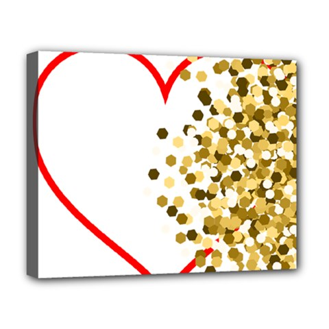 Heart Transparent Background Love Deluxe Canvas 20  X 16
