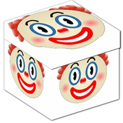 Clown Funny Make Up Whatsapp Storage Stool 12   by Nexatart