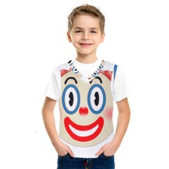 Clown Funny Make Up Whatsapp Kids  Sportswear
