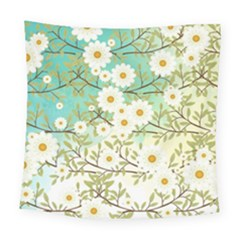 Springtime Scene Square Tapestry (large) by linceazul
